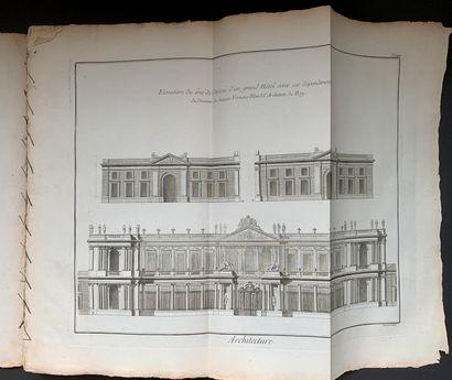 [ARCHITECTURE] - Recueil de planches de l'Encyclopédie...
