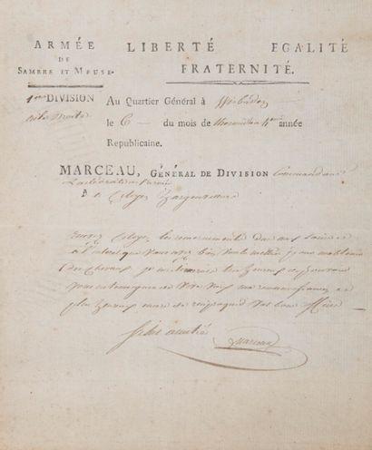 MARCEAU (François-Séverin Marceau Desgraviers,...