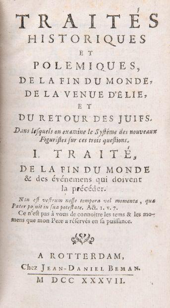 [MIGNOT, Etienne] - Traités historiques et...