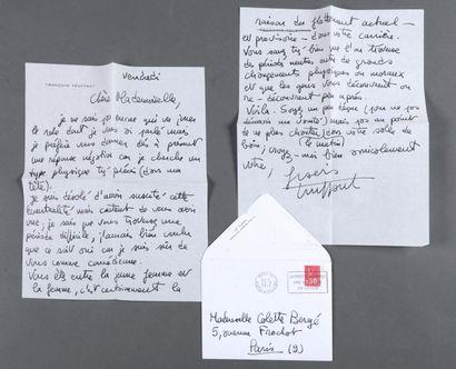 TRUFFAUT François [Paris, 1932 - Neuilly-sur-Seine,...