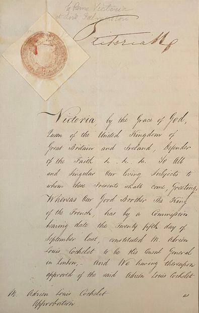 VICTORIA (Alexandrina Victoria de Wettin,...