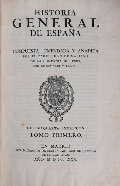 MARIANA, Juan de - Historia General de Espana....