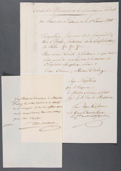 MONTESQUIOU-FEZENSAC Élisabeth Pierre, comte...