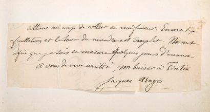 CARNET AMICORUM.  Carnet amicorum comprenant lettres autographes signées et dessins,...
