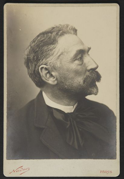 Paul NADAR (1856-1939)  Stéphane Mallarmé...