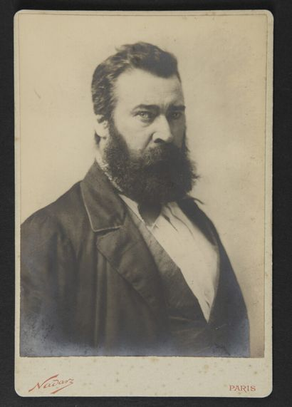Felix NADAR (1820-1910)  Jean-François Millet...
