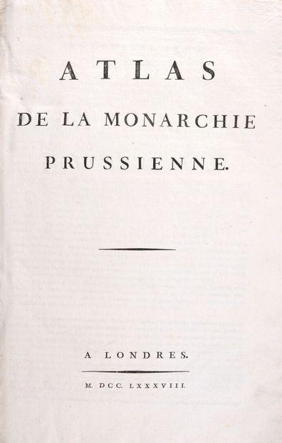 MIRABEAU, Comte de - De la Monarchie prussienne....