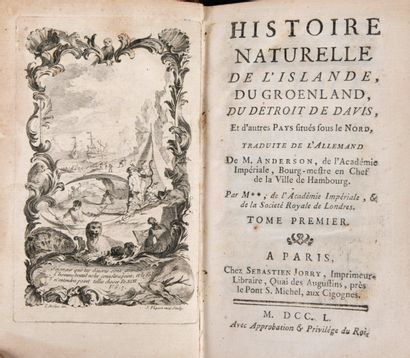 ANDERSON, Johann - Histoire naturelle de...