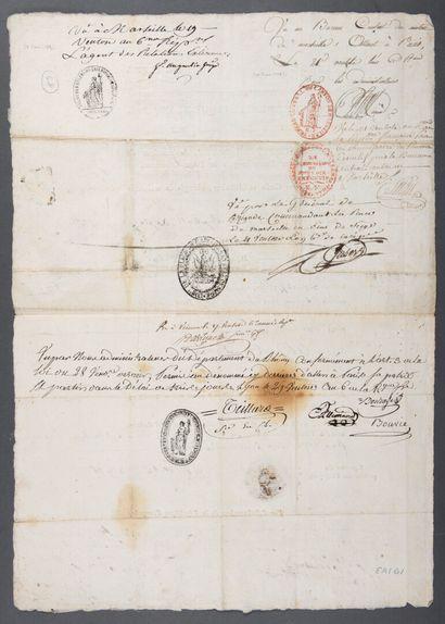 AUBERT-DUBAYET Jean-Baptiste-Annibal [La Mobile (Louisiane), 1757 - Constantinople,...