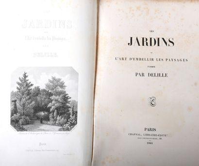 DELILLE, Jacques - Les Jardins, ou l'Art...