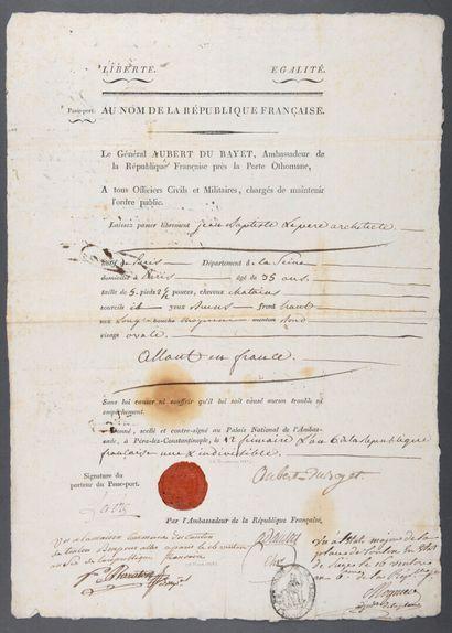 AUBERT-DUBAYET Jean-Baptiste-Annibal [La...