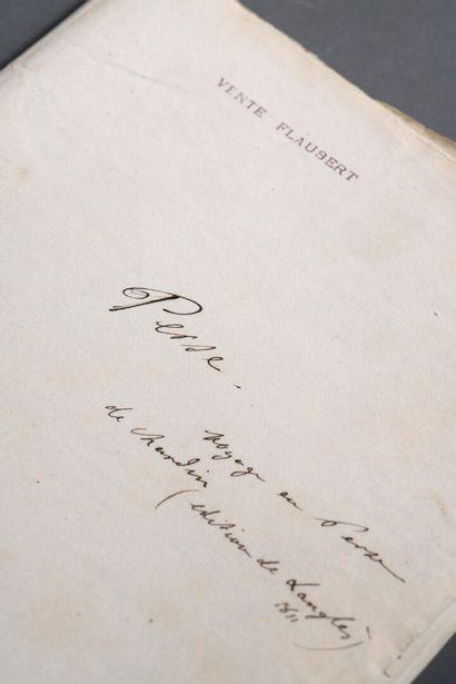 FLAUBERT Gustave [Rouen, 1821 - Croisset,...