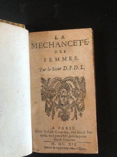 FIERVILLE, Sieur de] - La Méchanceté des...