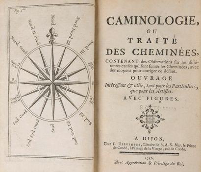 [HEBRARD, Pierre] - Caminologie, ou traité...