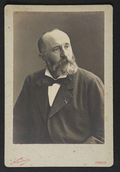 Paul NADAR (1856-1939)  Pierre Puvis de Chavannes...