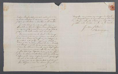 CAULAINCOURT Armand Augustin Louis de, duc de Vicence [Caulaincourt, 1773 - Paris,...