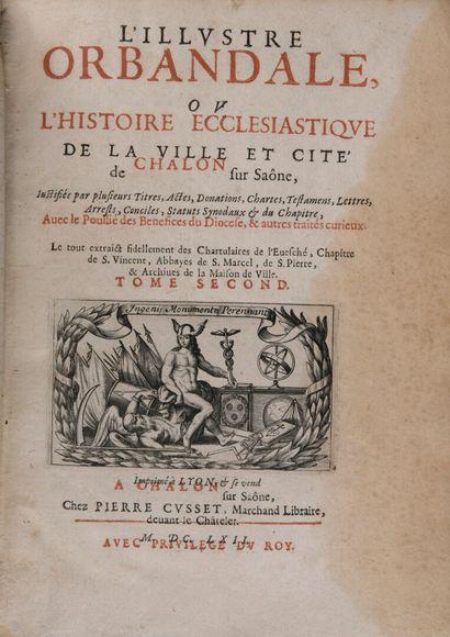 BERTAUT, Léonard - L'Illustre Orbandale ou...