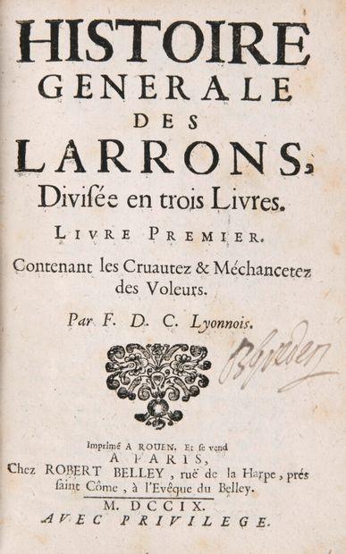 [CALVI, François de] - Histoire générale...