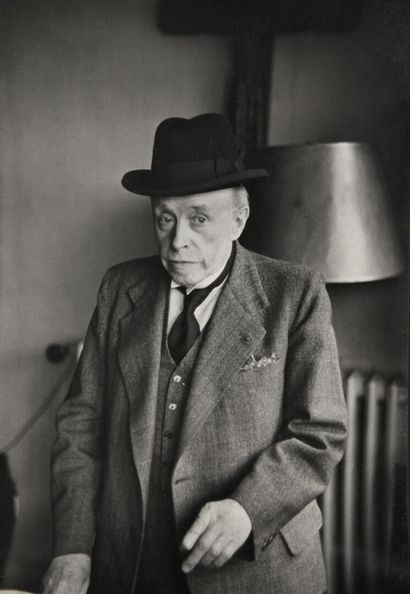 Henri CARTIER-BRESSON  Portrait de Georges...