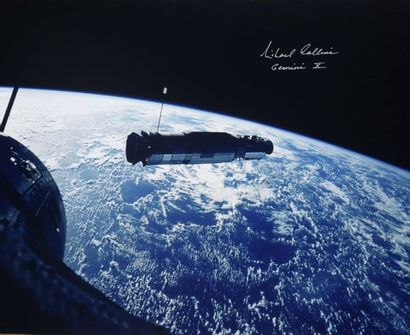 NASA / Michael COLLINS  Gemini 10 : En approche...