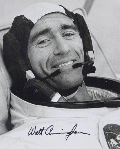 NASA  Apollo 7 : portrait de Walter CUNNINGHAM...