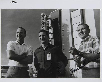 NASA  Apollo 8 : L'équipage au Kennedy Space...