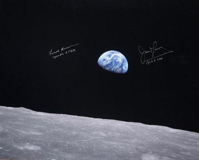 NASA  Apollo 8 : Première photographie d'un...