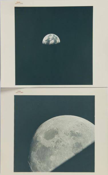 NASA / William ANDERS  Apollo 8 : La lune...