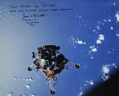 NASA / David SCOTT  Apollo 9 : Vue du module...