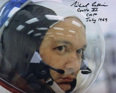 NASA  Apollo 11 : Gros plan du visage de...