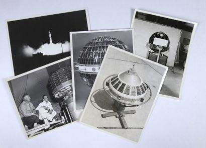 NASA  Premiers satellites lancés par la NASA...