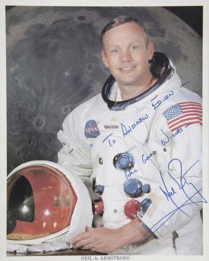 NASA  Apollo 11 : Neil ARMSTRONG posant dans...