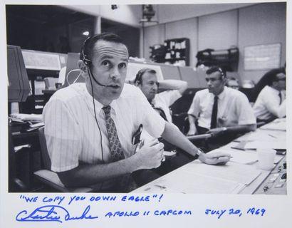 NASA  Apollo 11 : Charlie DUKE, Capcom de...