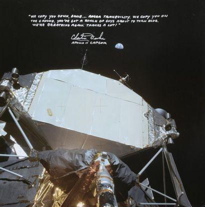 NASA / Neil ARMSTRONG  Apollo 11 : Vue de...