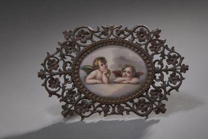 ÉCOLE FRANÇAISE du XIXe siècle  Les Amours...