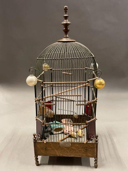 DISPRINI AINE à Paris  Cage à oiseaux.  Fin...