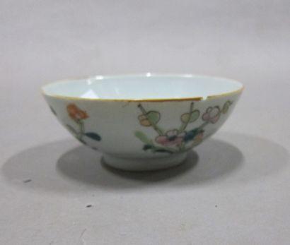 Bol en porcelaine dans le goût de song  Chine...