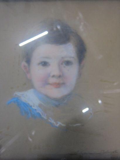 Germain BALIGOT (XXème siècle)  Portrait...
