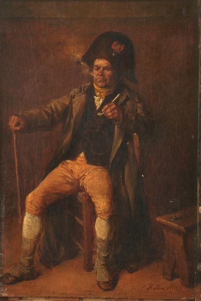 Jean-Baptiste MADOU (1796-1877)  Le Grognard...