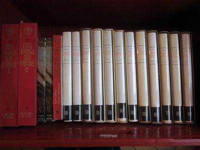 Deux caisses de livres d'art.  Dont La Grande Histoire de la peinture, Skira (16...