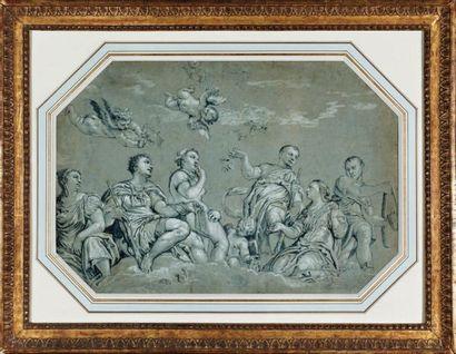 Ecole italienne du XVIIème siècle, d'après VERONESE