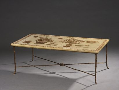 BAGUES (in the taste of)  Coffee table with...