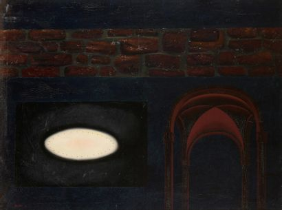 André BEULLENS (1930-1976)  Bifurcation des...