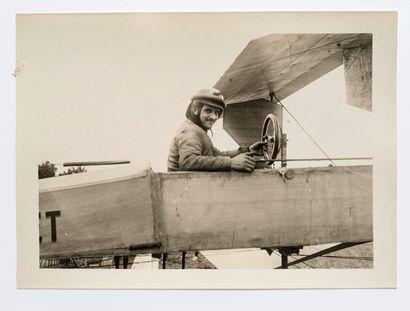 Lucien Loth (1885-1978)  Pilote Bathiat sur...