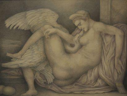 Léonard SARLUIS (1874-1949)  Autoportrait...