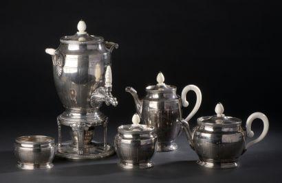 Jean-Émile PUIFORCAT (1897-1945)  Silver...