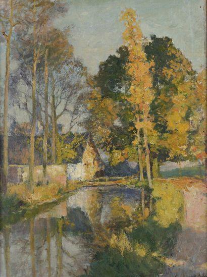 Albert SOHIE (1873-1927)  Harmonie d'automne...