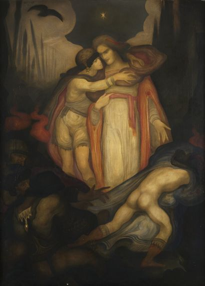 Léonard SARLUIS (1874-1949)  L'Arrestation...