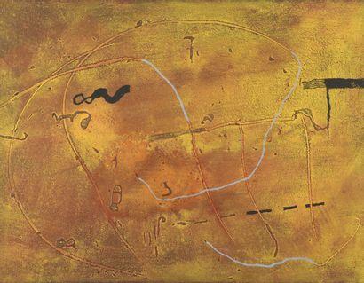 Richar TEXIER (né en 1955)  Composition abstraite,...