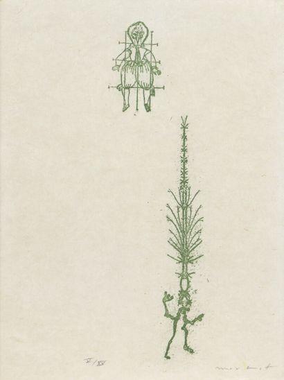 Max ERNST (1891-1976)  Lewis Carrolls Wunderhorn...
